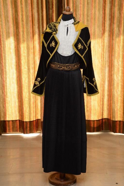 Η φορεσιά της Κύμης (Κάτω Παναγιά Εύβοιας)