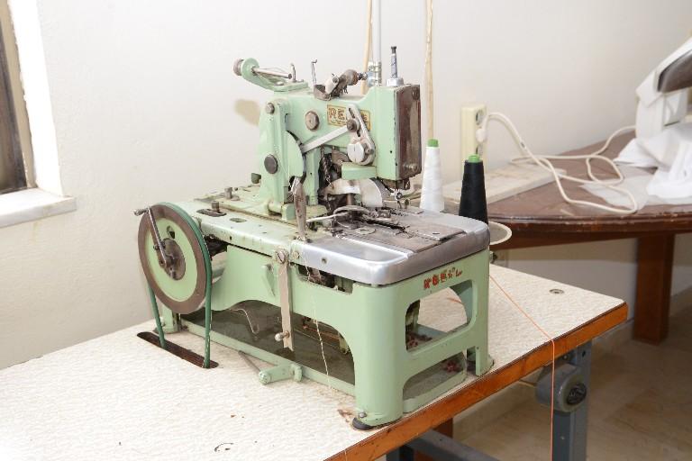 Η μηχανή για κουμπότρυπες